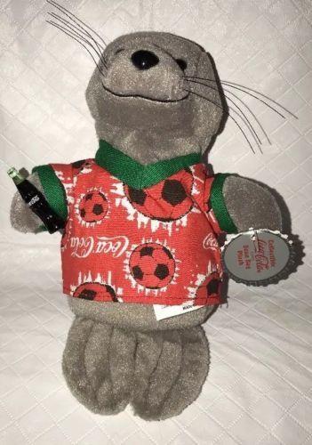 fe9c5553870 COCA COLA Seal Bean Bag Plush Holding Coke and 50 similar items. 12
