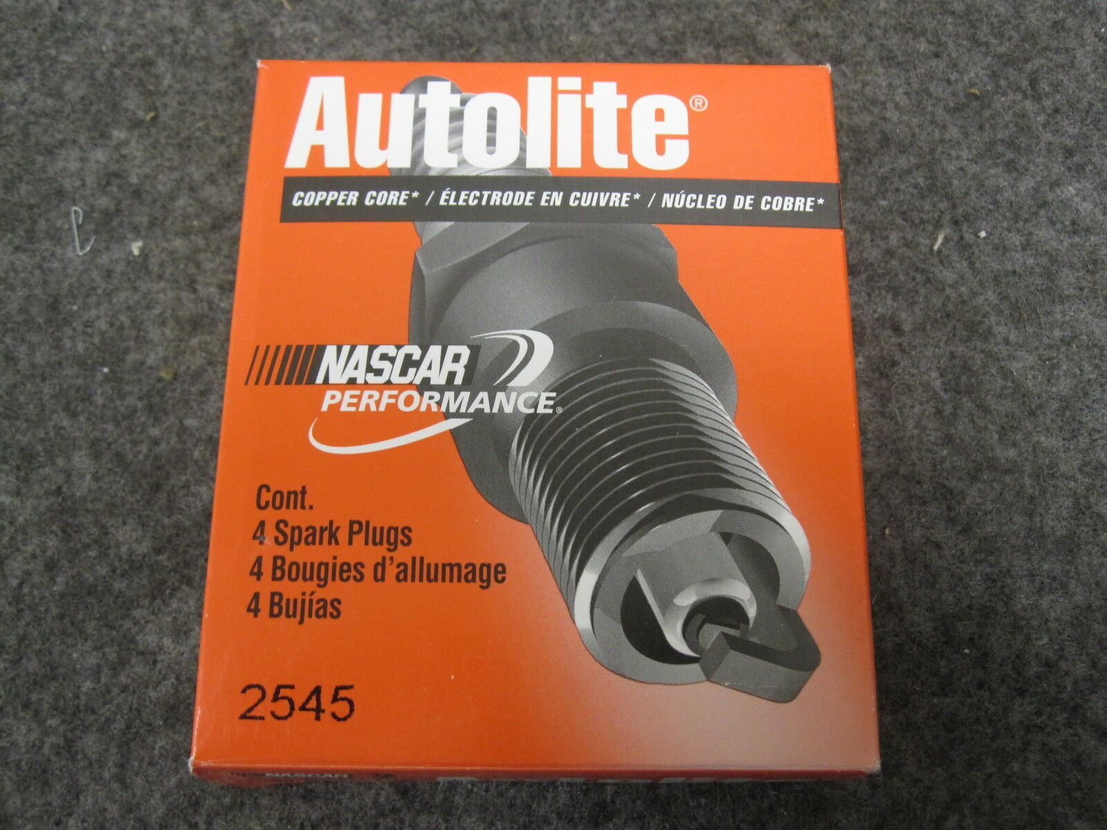 Autolite 2545 Spark Plugs Pack of 4 New