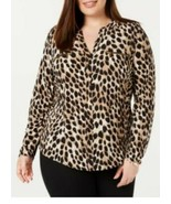 INC International Concepts Blouse Women Plus Size 0X Top NWT  $74.50 - $28.71