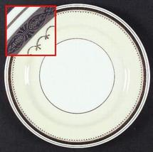 "Noritake Garfield 7 1/4"" Salad Plate with Gold Trim - $14.36"