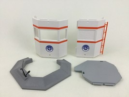 Playmobil 5539 Coast Guard Station Replacement Walls Roof Pieces Parts CGL1 - $16.88