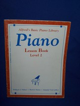 Alfred's Basic Piano Library 1981 Music Lesson Book Level 2  - $7.50