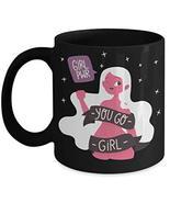 Galentines Mug; Best Friends Coffee Mug; Feminist You Go Girl Power Cups... - $17.77