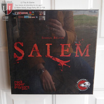 Salem Board Game Witch Trials Witchcraft Passport Game Studios NEW MIB S... - $54.45