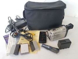Sony Handycam Vision DCR-TRV9 Mini DV Digital Video Camera Recorder Bundle - $89.05