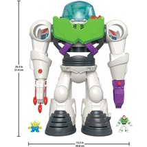Buzz Lightyear Robot Fun Toy Action Figure Disney Pixar 3 to 8 Year Gift... - $51.78