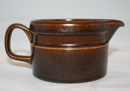 Vintage Wedgwood Sterling Creamer Brown Oven to Table England - $26.10