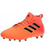 adidas Youth Ace 17.3 Fg J Skate Shoe 3 Little Kid Solar Orange/Black/So... - $44.54