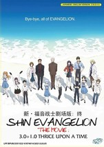 Shin Evangelion: 3.0+1.0 Thrice Upon a Time The Movie DVD with English dub USA