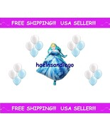 (¯`·. 17 Princess CINDERELLA Birthday Party Balloons!! FREE Shipping!! .... - $7.69