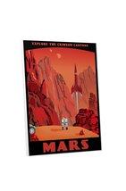 "Pingo World 0205Q6GQELG ""Steve Thomas Crimson Canyons of Mars"" Gallery W... - $53.41"
