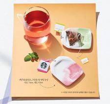 Starbucks Korea 2016 Teavana Tea Bag Tray Pink & Green Set - $17.82