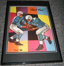 1959 UCLA vs Washington Football Framed 10x14 Poster Official Repro - $46.39