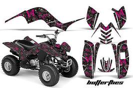 ATV Graphics Kit Quad Decal Sticker Wrap For Yamaha Raptor 80 02-08 BTTRFLY P K - $129.95