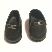 American Girl Doll  Girl of Today Black Buckle Shoes Pleasant Company (A29-12) - $16.14