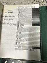 2004 DODGE DURANGO Service Repair Shop Manual Set W Data Book + Bulletin Page image 5