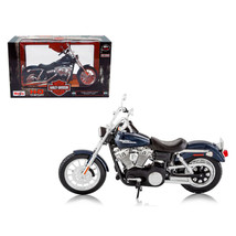 2006 Harley Davidson FXDBI Dyna Street Bob Bike Motorcycle Model 1/12 by... - $22.66