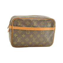 LOUIS VUITTON Monogram Compiegne 23 Clutch Bag M51847 LV Auth 10277 - $198.00