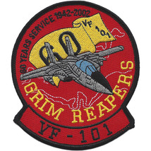 Usmc VF-101 60 Years Service 1942-2002 Grim Reapers Patch Tomcat New!!! - $1,000.00