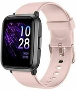 YAMAY Waterproof Smart Watch Fitness Tracker w/ Heart Rate Monitor- Pink... - $79.15