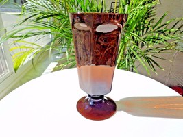 "Lenox Antique Brown Iced Tea Glass 6 5/8"" Tall - Retired - $9.90"
