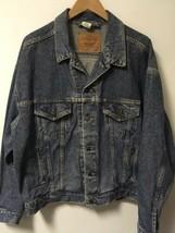 VTG Levi's Denim Jean Trucker Jacket 100% Cotton Men's Size L 70507-4890 - $28.71