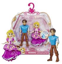 "Disney Princess Royal Clips Rapunzel & Eugene 3.5"" Figures New in Package - $9.88"