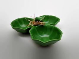 Boston International Emerald Bird Condiment Serving Bowl Small Chip - $27.72