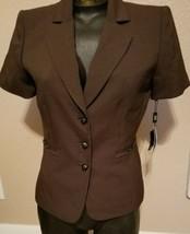 Tahari Arthur S Levine Blazer Sport Jacket Top NWT MSRP $280 Size 4P 3 B... - $205.79