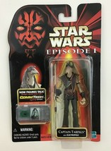 "Captain Tarpals 4"" Action Figure Commtech Chip Star Wars Episode 1 Hasbr... - $10.84"