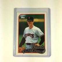 1989 Topps #241 Brett Butler San Francisco Giants Baseball Card Mint - $6.79