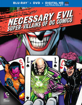 Necessary Evil-Villains Of Dc Comics (Blu-Ray/DVD/2 Disc)