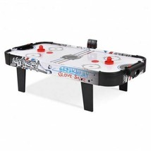"""Sturdy 42"""" Air Powered Hockey Table Top Scoring 2 Pushers - $185.39"""