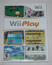 Wii Play Nintendo Wii 2007 Video Game, Action / Adventure, Tested, Free ... - $8.18