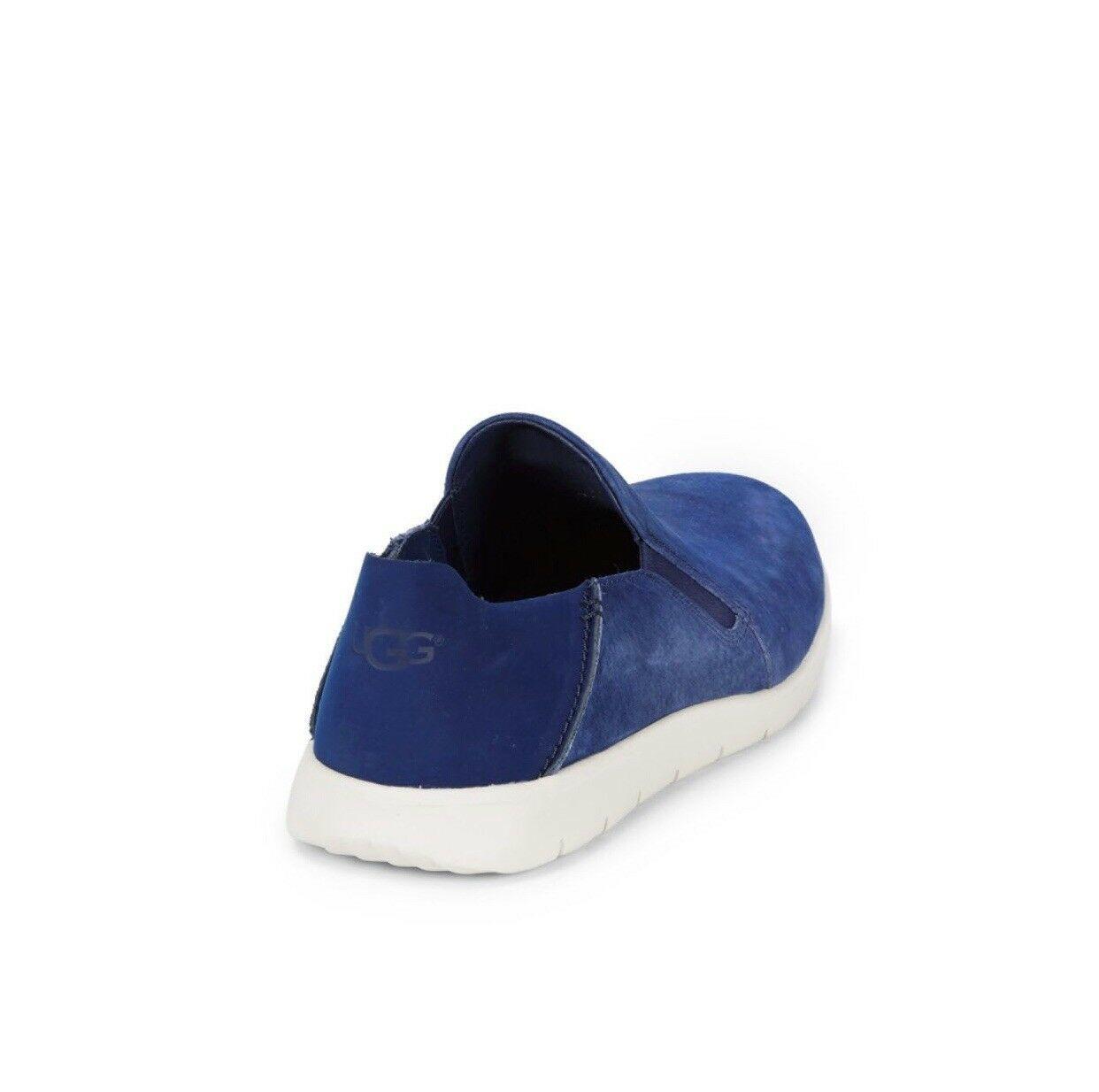 NEW UGG Men's Knox Suede Slip On Sneaker, Sizes 9, 11  Blue, MSRP $100 image 5