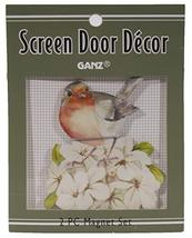 Gnz 3 Inch Wild Bird Metal Screen Door Saver Magnet Set, Choice of Bird ... - £6.25 GBP