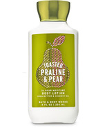 Bath & Body Works Toasted Praline & Pear Super Smooth Body Lotion 8 fl o... - $14.00