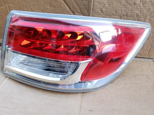 07-09 Mazda CX-9 CX9 Outer Tail Light Taillight Passenger Right RH