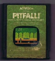ORIGINAL Vintage TESTED 1982 Atari 2600 Activision Pitfall Game Cartridge - $18.88 CAD