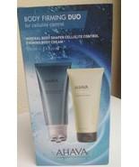 BNIB Ahava Body 200ml Firming Body Cream + 200ml Body Shaper Cellulite g... - $189.61