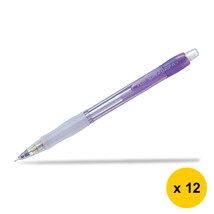 Pilot Super Grip Neon H-185N 0.5mm Mechanical Pencil (12pcs), Violet, H-... - $28.99