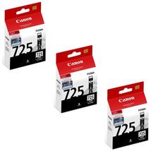 Canon PGI-725 Ink Tanks (for iX6560/MG8270/MG8170/MG6270/MX897/MX886) (3... - $54.20