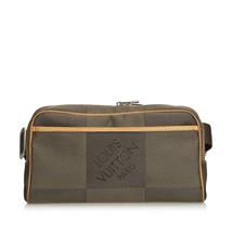 Pre-Loved Louis Vuitton Gray Damier Geant Acrobate Waist Bag France - $749.58 CAD