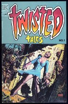 Twisted Tales 1 Comic 1982 Richard Corben cover art Pacific 1st Bagged &... - $10.00