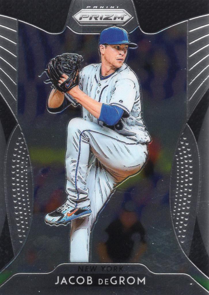 2019 Panini Prizm Baseball Card #20 Jacob DeGrom New York Mets  - $0.99