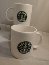 Starbucks coffee co 2001 new store logo  Mug Cup 18 oz. Lot of 2 mermaid... - $27.79