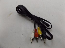 AV Cable 3.5 mm Jack Plug to 3 RCA Cable Audio Wire 3.5mm PlugTo 3 RCA A/V - $6.35