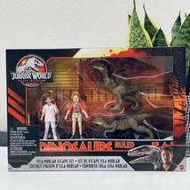 Jurassic World Legacy Collection ISLA NUBLAR ESCAPE SET Jurassic Park NEW - $57.32