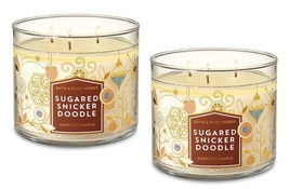 Sugared snickerdoodle 3 wick candle 2 pack thumb200