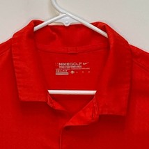 Nike Golf Mens Dri-Fit Activewear Polo Red XL - $23.73